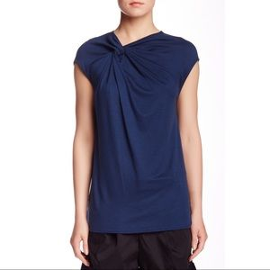 Helmut Lang Twist Neck Sleeveless Blouse Top S